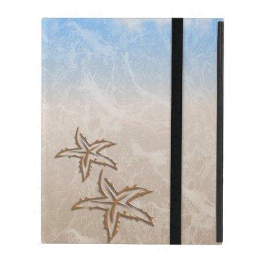 Beach Themed Starfish Beach iPad Cover