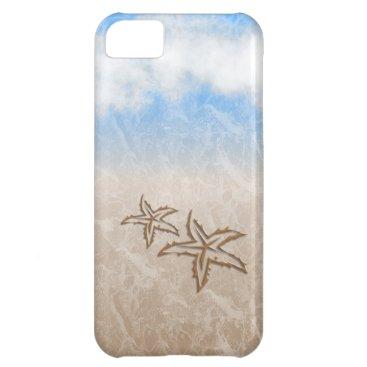 Beach Themed Starfish Beach iPhone 5C Cover