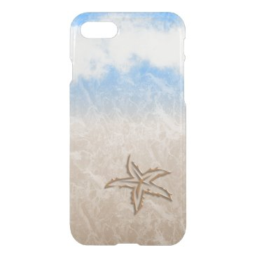 Beach Themed Starfish Beach iPhone 7 Case