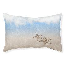 Starfish Beach Pet Bed