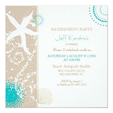 daphne1024 Starfish Beach Retirement Party Card