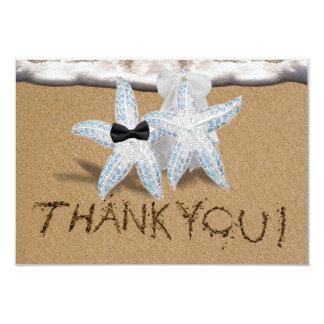 Starfish Beach Thank You Card