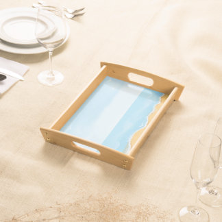 Starfish Beach Theme Serving Tray