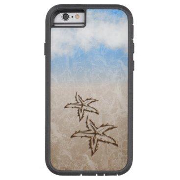 Beach Themed Starfish Beach Tough Xtreme iPhone 6 Case