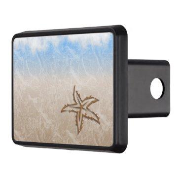 Beach Themed Starfish Beach Trailer Hitch Cover