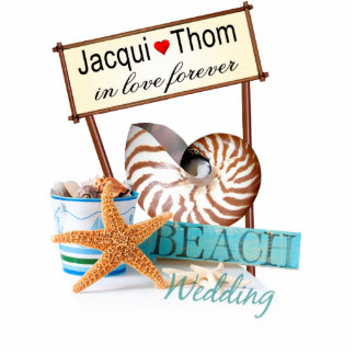 Starfish Beach Wedding CONTACT ME TO PERSONALIZE Statuette