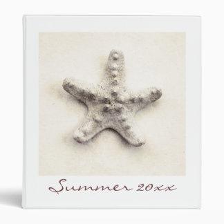 Starfish binder - summer memories