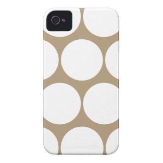 Starfish Brown Polka Dot Iphone 4/4S Case