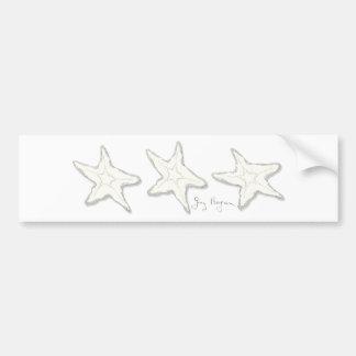 Starfish Bumper Sticker Car Bumper Sticker
