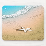 Starfish by the sea mouse pad
