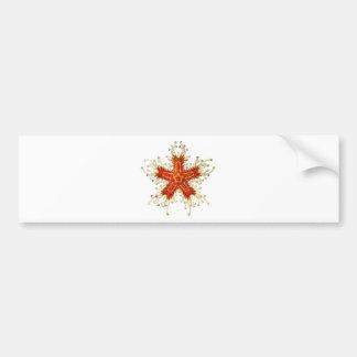 Starfish Car Bumper Sticker
