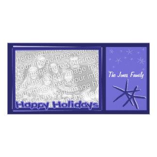 Starfish Christmas Photo Card