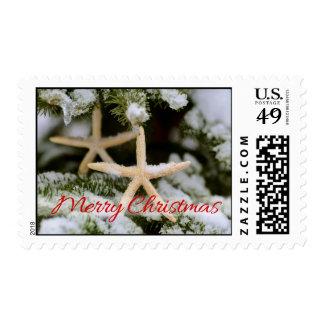 Starfish Christmas Postage