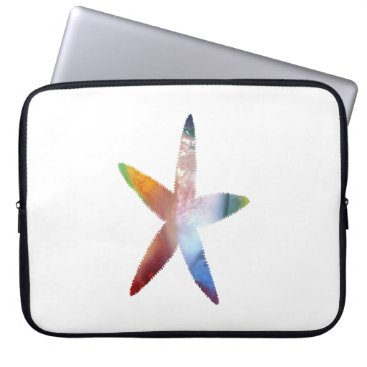 Beach Themed Starfish Computer Sleeve