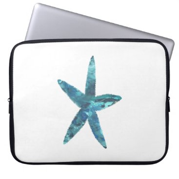 Beach Themed Starfish Computer Sleeve