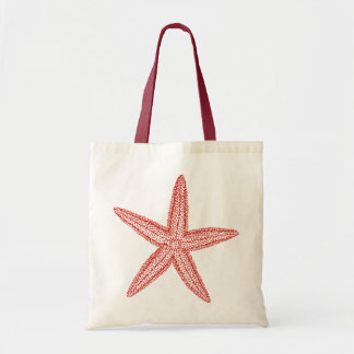 Starfish Coral Pink Tote Bag