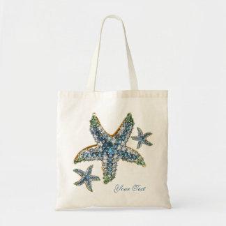 Starfish Costume Jewelry Beach Tote Bag AddUr Text