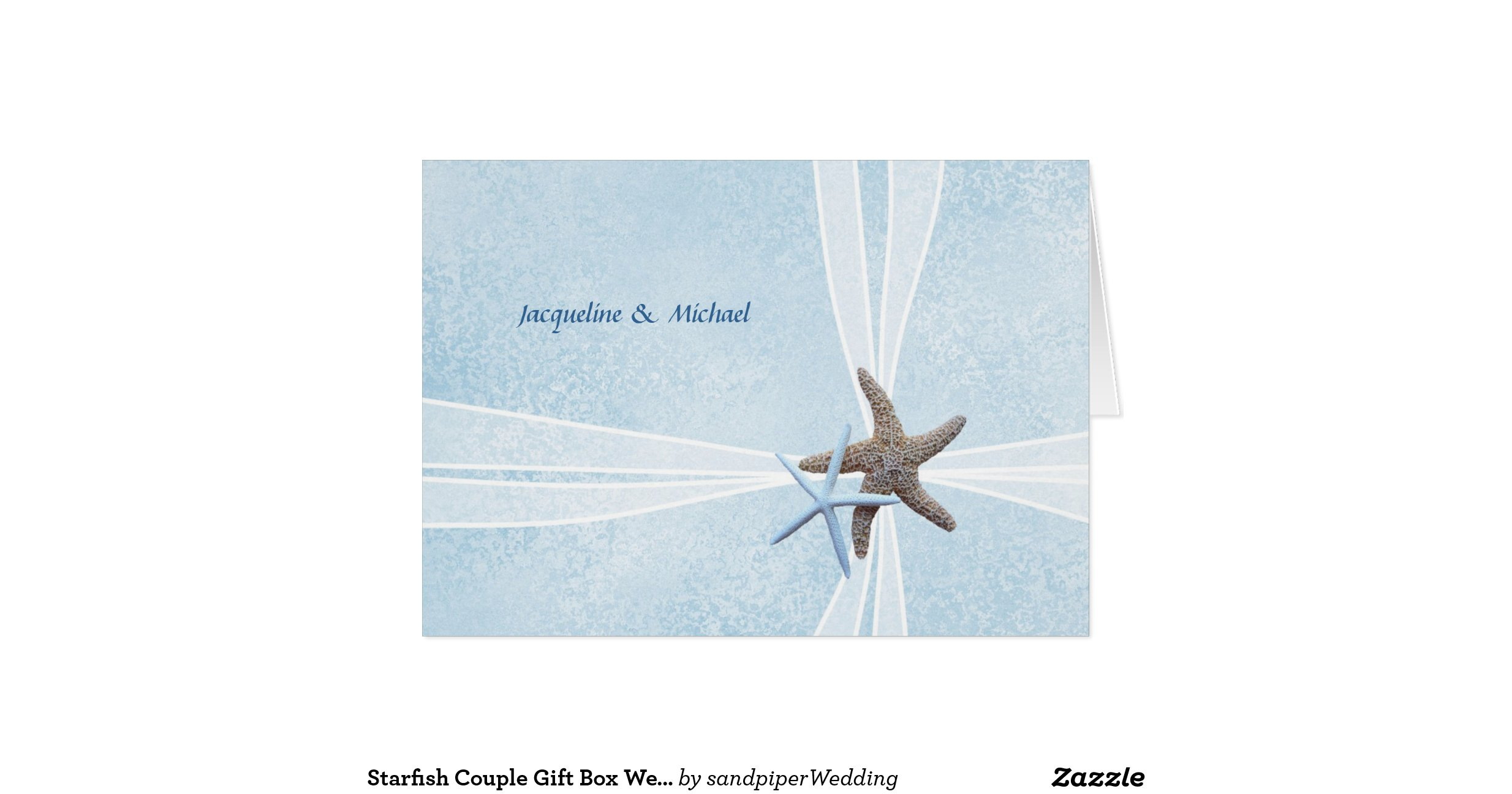 starfish_couple_gift_box_wedding_thank_you_cards ...