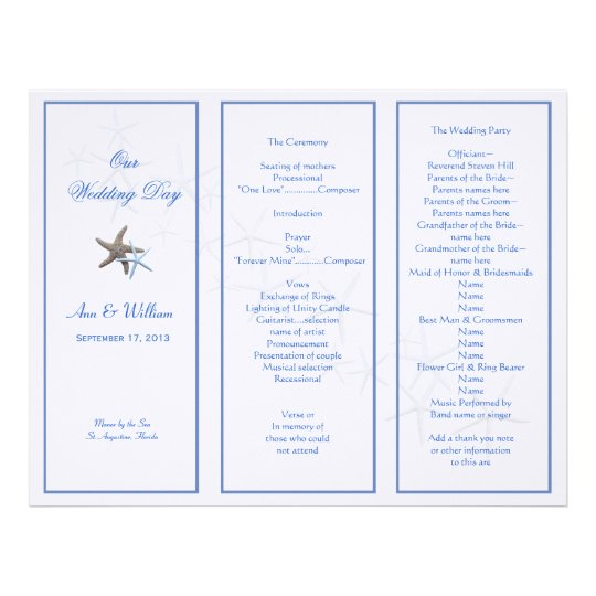 funeral announcement template free unique beautiful tri fold wedding