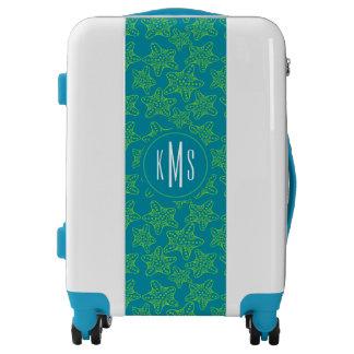 Starfish Crowd Pattern | Monogram| Monogram Luggage