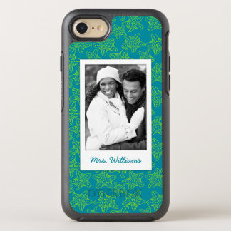 Starfish Crowd Pattern | Your Photo & Name OtterBox Symmetry iPhone 7 Case
