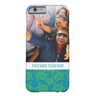 Starfish Crowd Pattern | Your Photo & Text Barely There iPhone 6 Case
