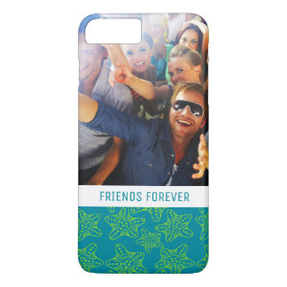 Starfish Crowd Pattern | Your Photo & Text iPhone 7 Plus Case