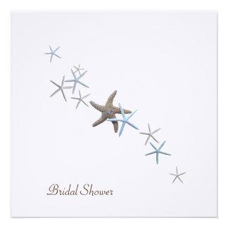 Starfish Dance Bridal Shower Invitations