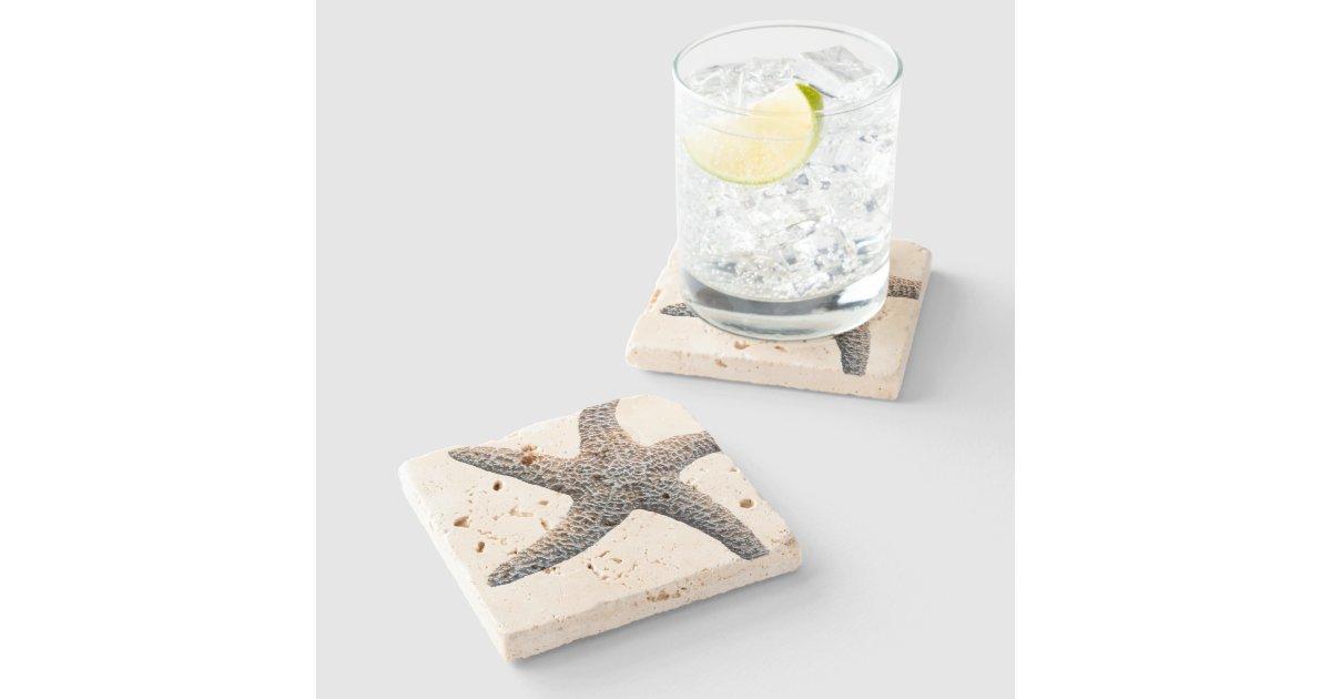 Starfish Drink Coasters Stone Zazzle