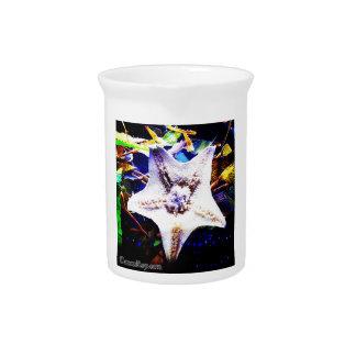 Starfish Drink Pitcher