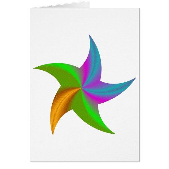 Starfish - Etoile de mer Card