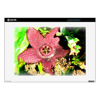 "Starfish Flower - Purple Cactus/Succulent Flower Skins For 15"" Laptops"
