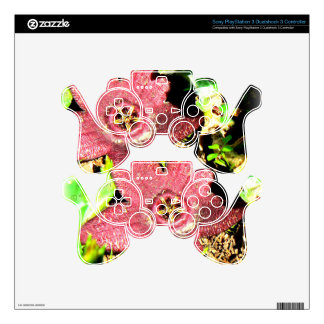 Starfish Flower - Purple Cactus/Succulent Flower PS3 Controller Skin