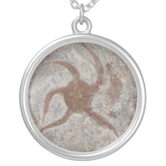 Starfish Fossil Necklace