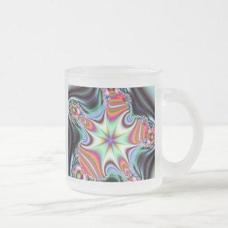 Starfish Frosted Glass Coffee Mug