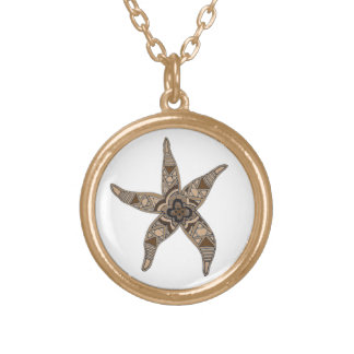 Starfish Gold Plated Necklace
