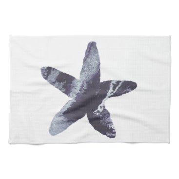 Beach Themed Starfish Hand Towel