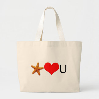 Starfish Hearts You Tote Bags