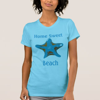 Starfish Home Sweet Beach Fine Jersey T-shirt