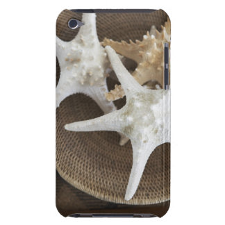 Starfish in a basket iPod touch cases