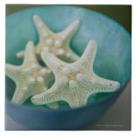 Starfish in bowl tile