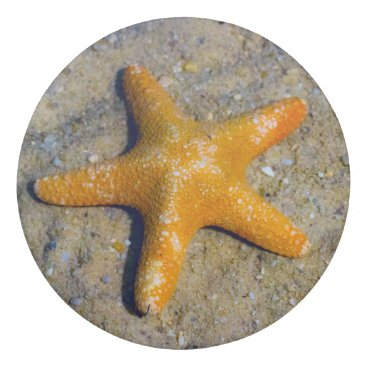 Beach Themed Starfish in the Sand Eraser
