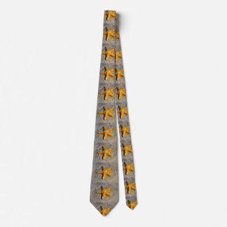 Starfish in the Sand Neck Tie
