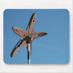 Starfish in the Sky Mouse Pad