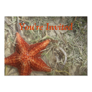 Starfish Invitation