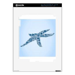 Starfish iPad 3 Decal