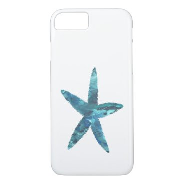 Beach Themed Starfish iPhone 7 Case