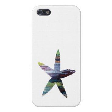 Beach Themed Starfish iPhone SE/5/5s Case