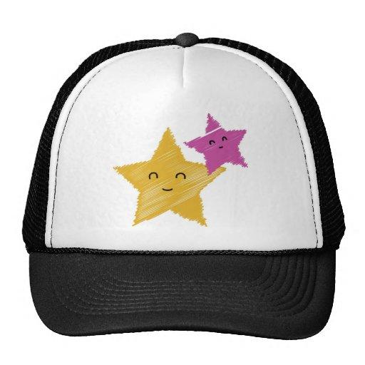 Starfish Kawai Mesh Hats