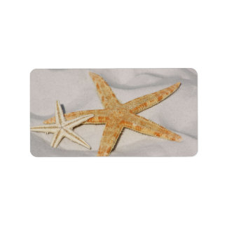 Starfish Personalized Address Labels
